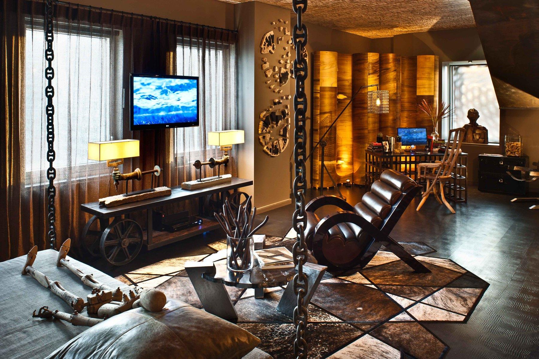Elegant Interior Design Installation By Jeff Andrews Design | Runway Rug