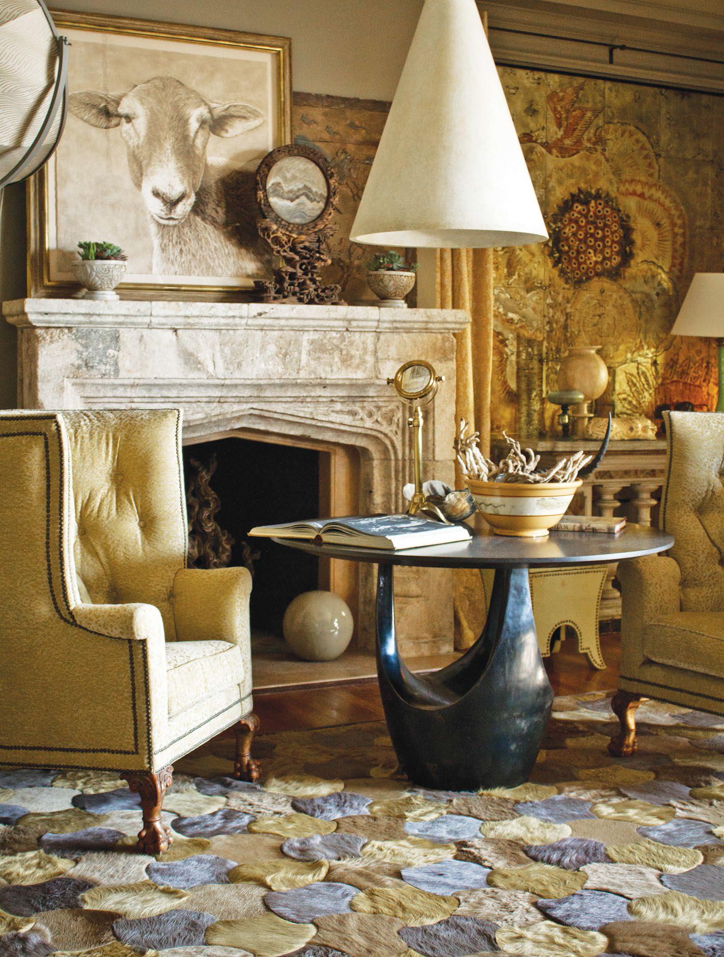 interior design installation by barry dixon design  leigh rug  - designed by barry dixon