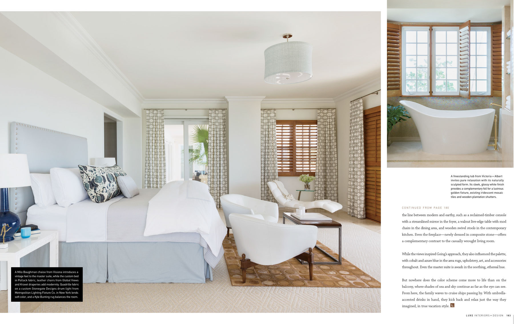 Luxe Interiors + Design. Summer 2014. Find More Images Of Limelight Here